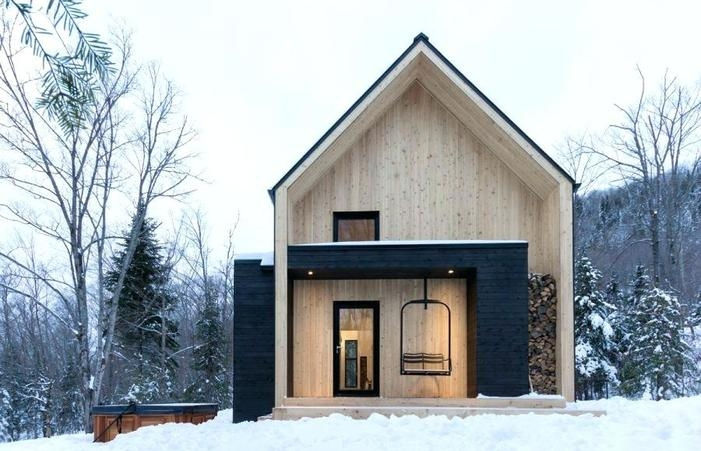 home elements and style new fantastic prefab modern cabin Tiny Modern Cabin Designs