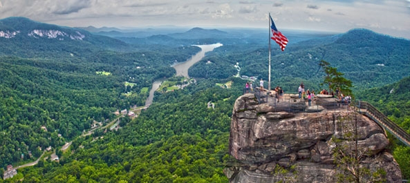 lake lure and chimney rock activities and cabin rentals Chimney Rock Cabins