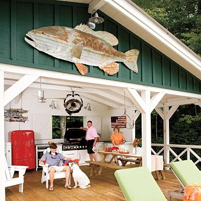 lakeside cabin makeover cottage outdoor lakeside cabin Lake Cabin Makeover