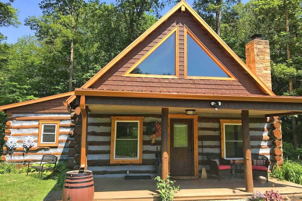 nashville indiana cabin rentals getaways all cabins Brown County Cabins For Two
