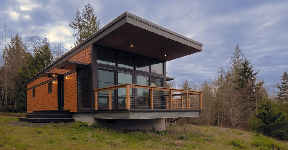 over the last several years prefab cabins have become a Modern Prefab Cabins