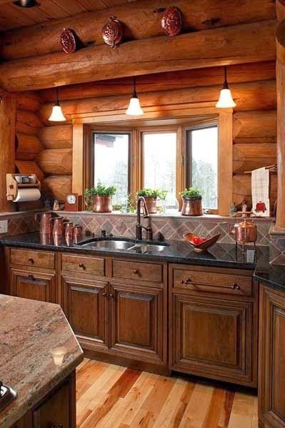 pin on my dream home Log Cabin Decorating Ideas