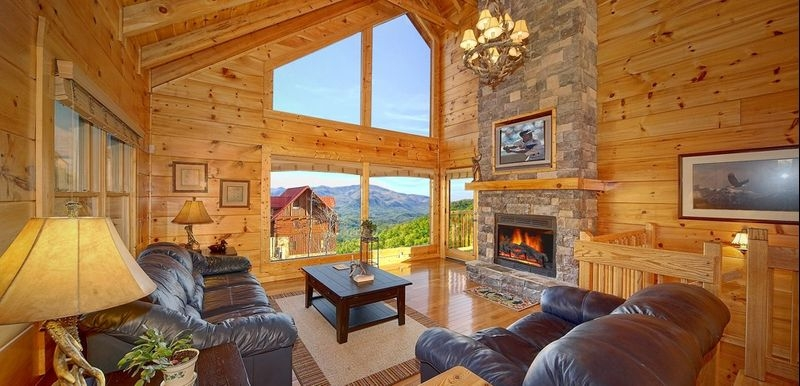 rustic cabin decor ideas for your log home everything log Log Cabin Decorating Ideas