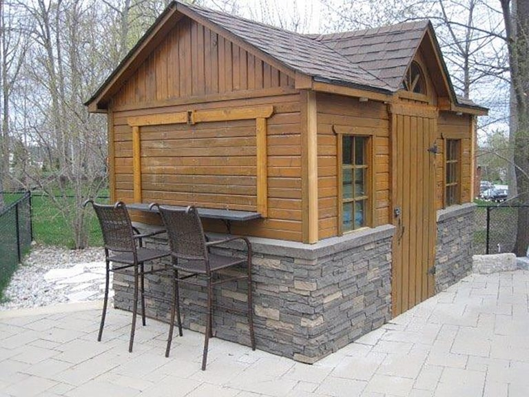 skirting archives genstone faux stone Cabin Skirting Ideas