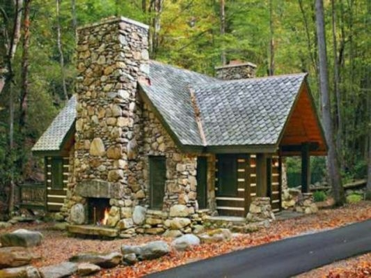 small stone cabin house plans english stone cabin small Small Stone Cabin