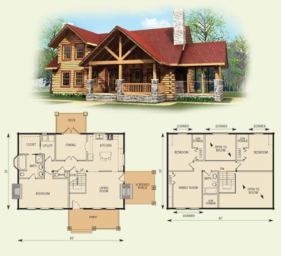 stoneridge log home and log cabin floor plan id swap the Log Cabin House Architectural Design And Floorplans