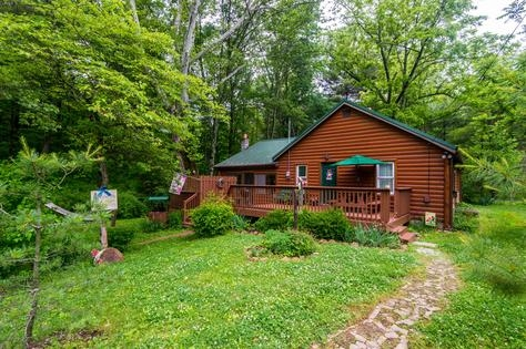 vacation rentals brown county log cabins Brown County Cabins For Two