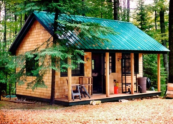 vermont cottage option a post and beam cabin kit Small Post And Beam Cabins