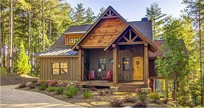 10 cabin floor plans cozy homes life Cabin And Cottage Plans