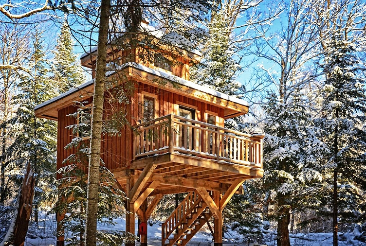 10 of the best airbnb cabins in canada to cozy up in this winter Cabin Vs Cottage Canada