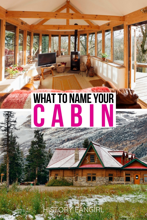 133 wonderfully woodsy cabin names for your peaceful hideout Lake Cabin Names