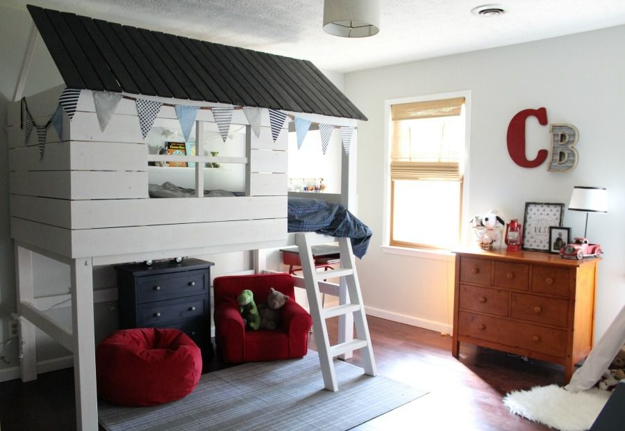 14 free diy loft bed plans for kids and adults Cottage Cabin Bed