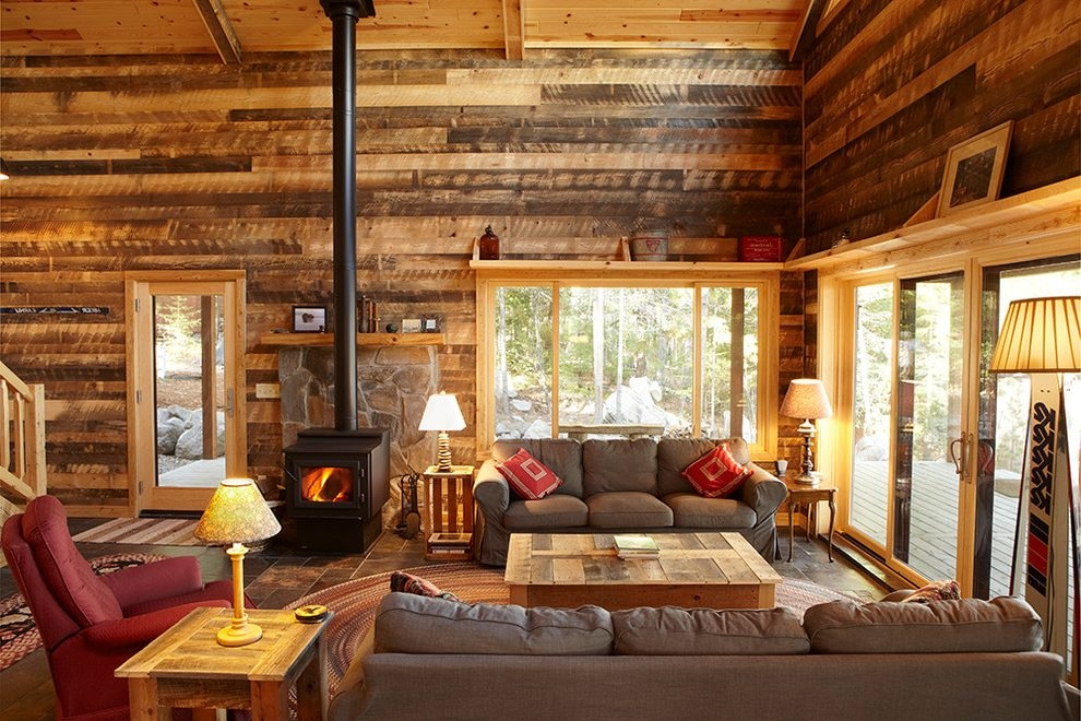 19 log cabin home dcor ideas Cottage Cabin Decorating Ideas