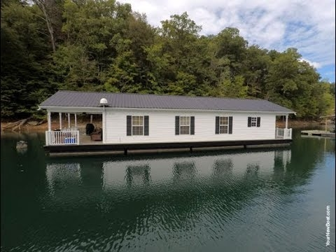 20 x 48 floating cabin approx 960sqft for sale on norris lake tn sold Lake Cabin Tennessee For Sale
