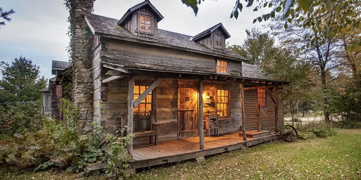 5 cozy cottages perfect for an escape from chicago curbed Cabin Cottage For Rent