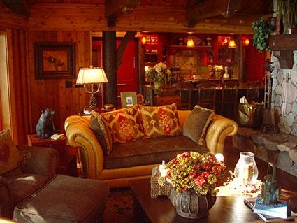 5 different style ideas for decorating a lake house lovetoknow Lake Cabin Interior