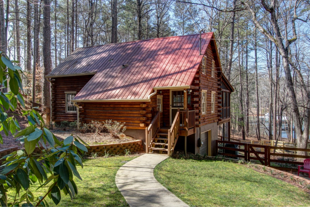 6032 lake lanier heights road buford ga 305018 lake Lake Cabin Georgia For Sale