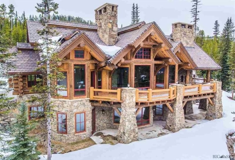 8 of the most stunning log cabin homes in america Cabin Cottage Homes