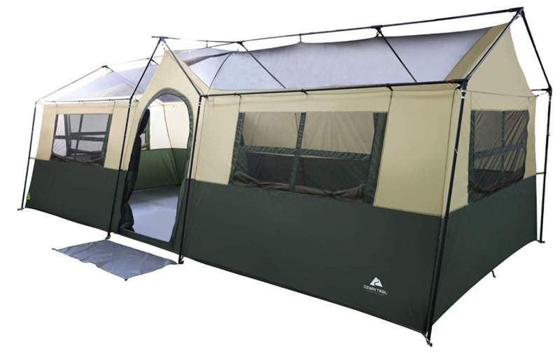 9 best camping tents with closets cabinets all different 3Room Cottage Cabin Tent