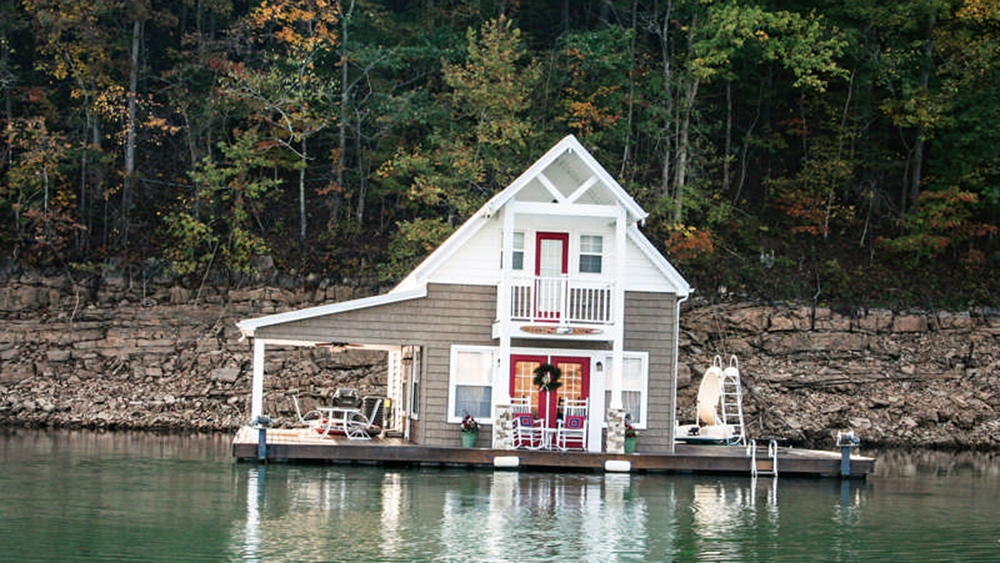 a floating cabin in tennessee Lake Cabin Tennessee