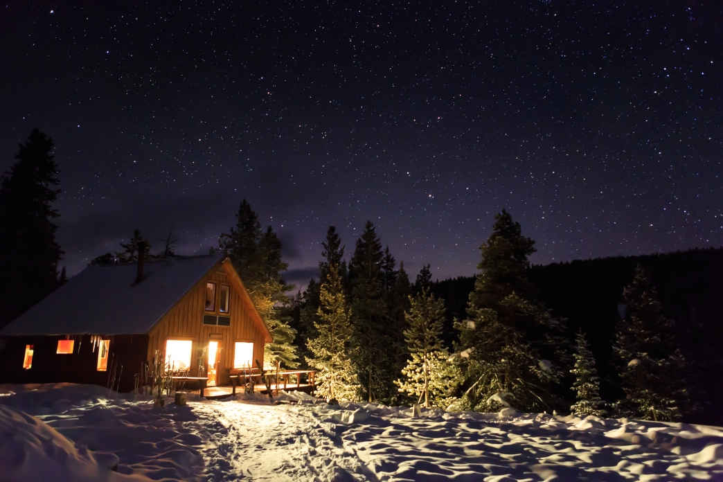 beat the winter blues 6 perfectly cozy cottages huts and Cabin Hut Cottage