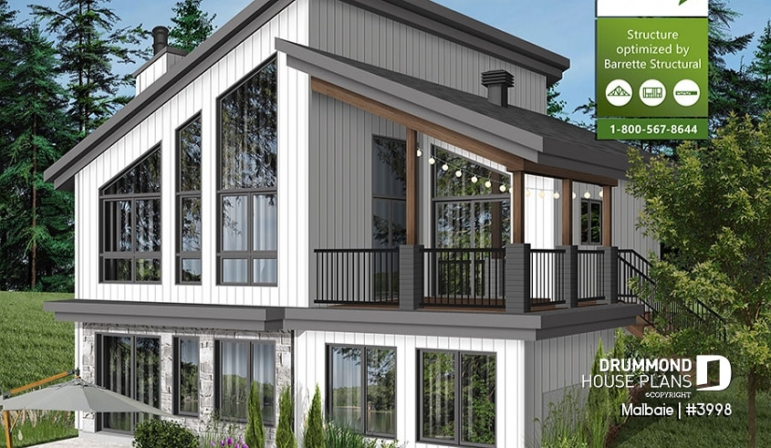 best lake house plans waterfront cottage plans simple designs Lake Cabin Plans With Garage