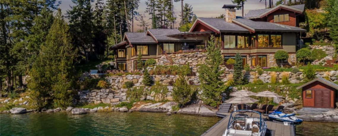 black rock properties north idaho luxury homes sarah Coeur D'Alene Lake Cabins For Sale