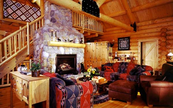 cabin and cottage decor house plans and more Cabin Cottage Decor