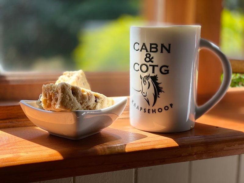 cabincottage kaapsehoop has patio and secure parking Cabin And Cottage Kaapsehoop