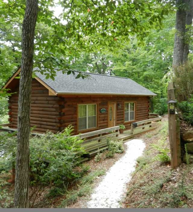 cabins and cottages in lake lure and the blue ridge foothills Lake Cabin Rentals Nc