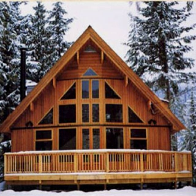 chalet style home a frame house plans log cabin homes Cabin Cottage Chalet