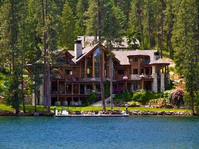 check out the home i found in coeur d alene lakefront Coeur D'Alene Lake Cabins For Sale