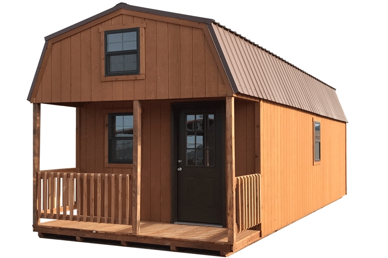 colorado lofted barn cabin built for you prices for 2019 Cottage Cabin Shed