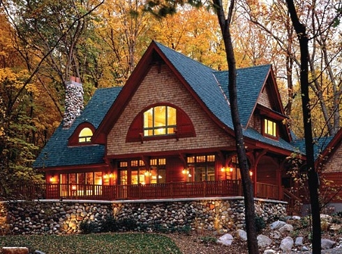 cottage home plans a modern day craftsman classic Cabin Cottage Home Plans