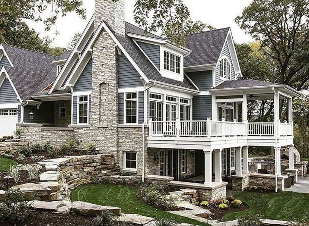 decoomo trends home decoration ideas lake houses Lake Cabin Exterior Ideas