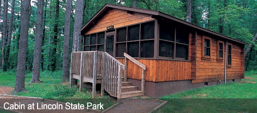 dnr family cabins fees reservations Lake O Law Cabins