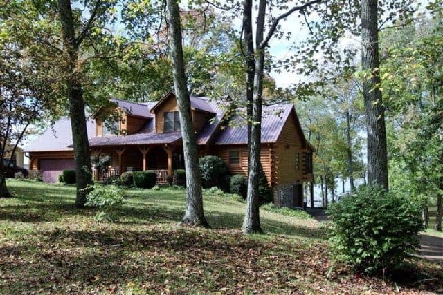 dover tn waterfront homes for sale lake homes Lake Cabin Tennessee For Sale