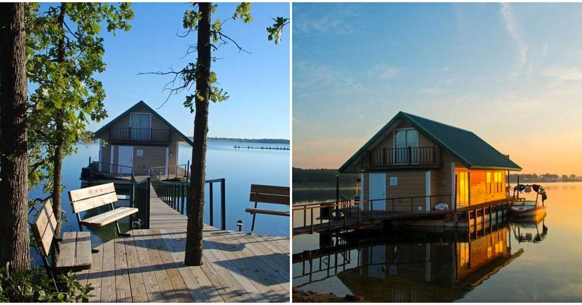 floating lake cabin rentals in oklahoma are the ultimate Lake Cabin To Rent