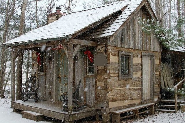 for the record i didnt build this cabin nor did i design Cottage Cabin Breaks