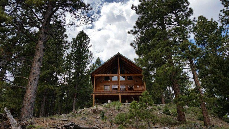 full log cabin overlooking panguitch lake for sale Lake Cabin Utah For Sale