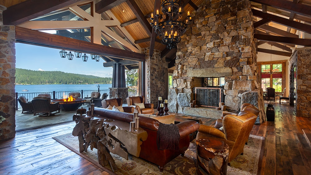 inside a stunning 27 million idaho ranch robb report Coeur D'Alene Lake Cabins For Sale