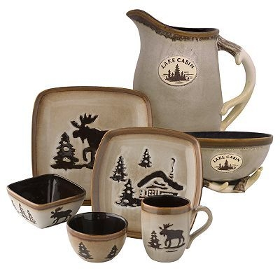 just what i have been looking for i want this soooo bad Lake Cabin Dishes
