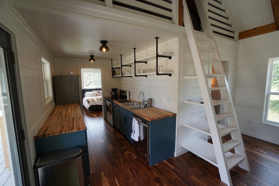 kanga 16x40 cottage cabin with modern farmhouse feel Cottage Cabin 16x40
