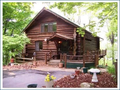 lakefront and residential homes in sw michigan kimberly Lake Cabin Michigan For Sale