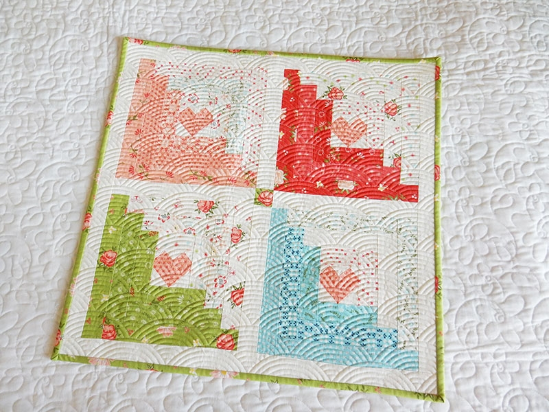 log cabin quilt block easy tutorials a quilting life Log Cabin Quilts