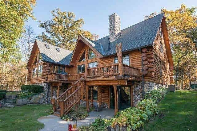 log homes for sale in michigan ed constable Cabin Cottage For Sale Michigan