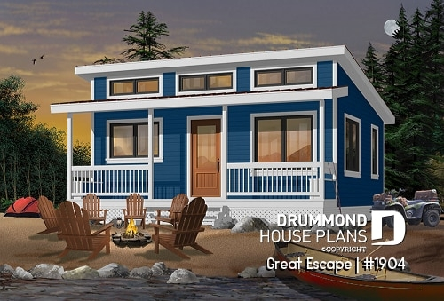 low cost cottage house plans vacation plans and cabin plans Cottage Cabin Ideas