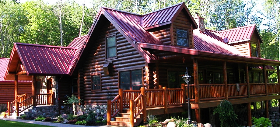 minnesota log homes for sale lakeplace Lake Cabin For Sale Mn