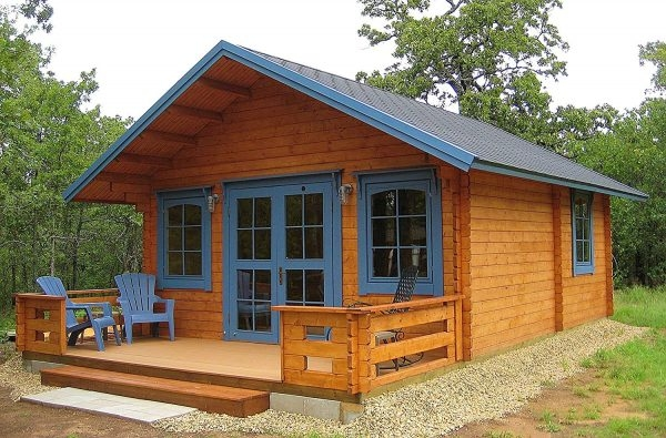 off grid cabin or backyard office kits the homestead survival Off Grid Cabin Kit