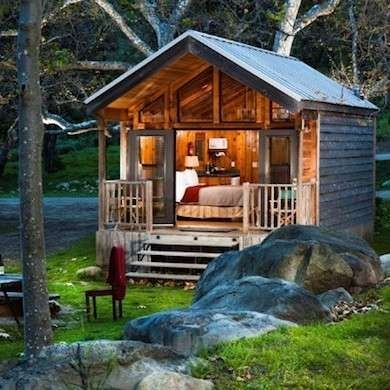 on the waterfront 10 tiny lake houses house styles small Small Lake Cabin Ideas